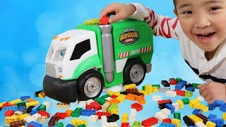 Talking Garbage Truck Mr Dusty Real Workin' Buddies Cleaning Fun With Ckn Toys