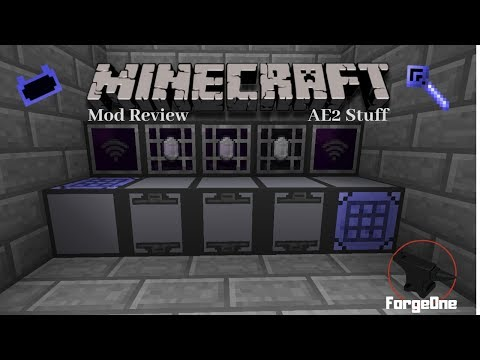 Minecraft Mod Review - AE2 Stuff