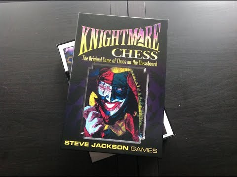 Knightmare Chess box.