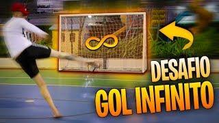 DESAFIO DO GOL INFINITO (NAO PODE PARAR DE FAZER GOL!!!)   DESAFIOS DE FUTEBOL