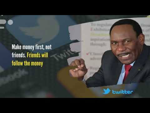 Make money first, not friends — Ezekiel Mutua.