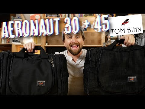 Tom Bihn Aeronaut 30 + 45 Bag Review