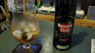 Hougly Booze Review: Havana Club 7 Years.