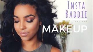 Insta Baddie Inspired Makeup   feat. Modern Renaissance Eyeshadow Palette