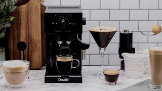 Dualit's Espresso Coffee Machine preview