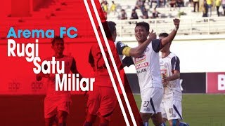 Arema FC Rugi Rp1 Miliar Akibat Sanksi Komdis PSSI