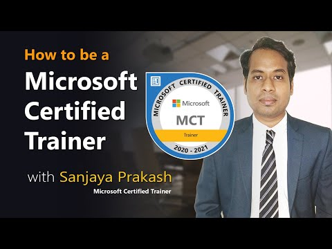 How to be a MCT ( Microsoft Certified Trainer) - YouTube