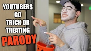 YOUTUBERS GO TRICK OR TREATING 2017 - Video Youtube