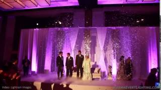 Confetti Grand Entrance for Wedding by Karma Event Lighting