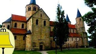 preview picture of video 'Hildesheim St. Godehard: Kerkklokken Katholieke kerk (anläuten des Plenums)'