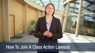 How To Join A Class Action Lawsuit