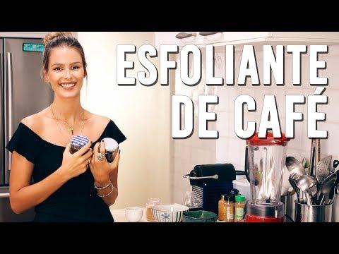 Esfoliante com Café