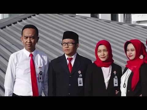 Upacara Bendera HUT RI ke 73 Bank BJB Cabang Garut