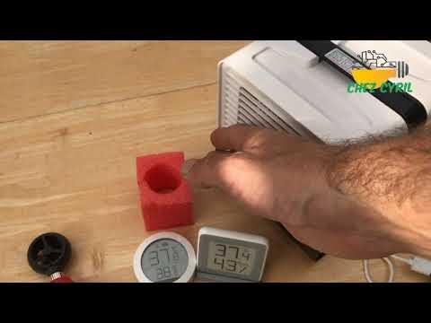 Ventilateur rafraichisseur à evaporation LFJ 08
