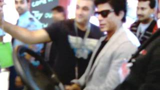 sha rukh khan arrival at schiphol airport amsterdam 9 july 2011 nr 2