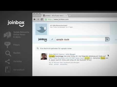 News-Vereinigung: Joinbox führt Nachrichtenkanäle zusammen