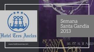 preview picture of video 'Semana Santa Gandia 2013'