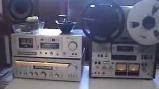 Yamaha Speakers & Akai Amplifier