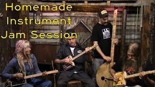Homemade Instrument Jam Session