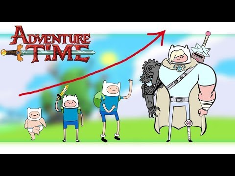 ✅Aventure Time Grown Up Evolution  Compilation | Zilo TV