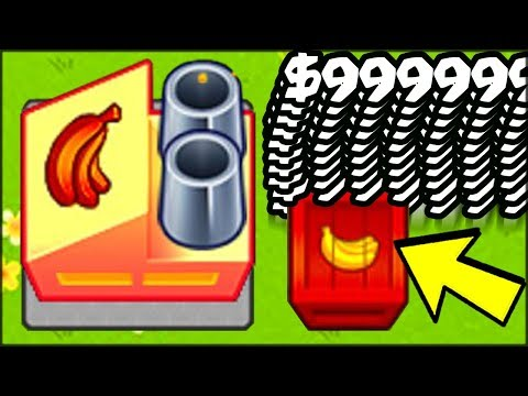🔺🍌 NEW RED BANANAS ARE THE *FASTEST* MONEY EVER (MAX MONEY FARM HACK in Bloons TD Battles)