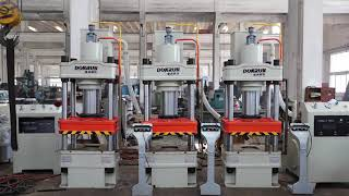 universal cold heat forming 200 ton 300 ton hydraulic press machine youtube video