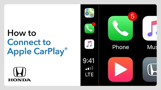2020 CR-V: How to Connect and Use Apple CarPlay®