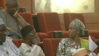 Remi Tinubu Disrupts Senate, Threatens Fellow Senator