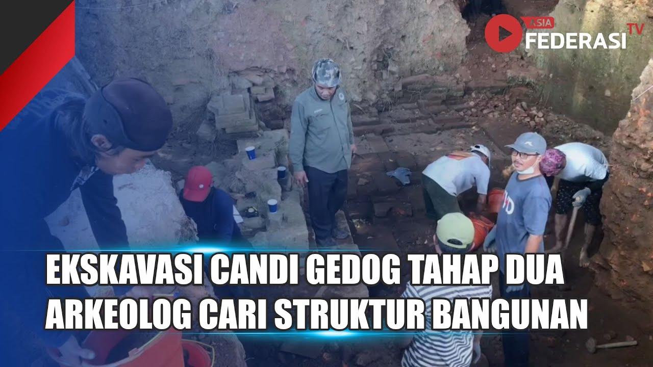 Ekskavasi Candi Gedog Tahap Dua, Arkeolog Cari Bentuk Struktur Bangunan