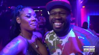50CENT GETS A BDAY KISS FROM PANDA AT ACES NY