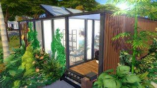 MODERN FAMILY BEACH HOUSE || The Sims 4: Speed Build