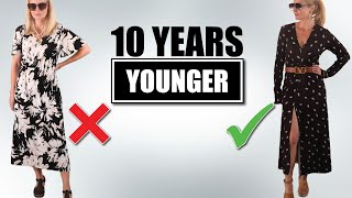 5 Style Tips To Look 10 Years *YOUNGER*! (Over 40)