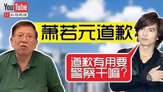 萧若元道歉(11月12日小马识途)