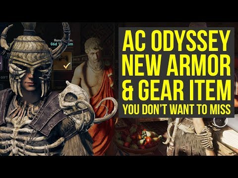 Assassin's Creed Odyssey Wild Boar Pack - NEW ITEMS & Weekly Reset! (AC Odyssey Wild Boar Pack)