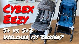 Erfahrungsbericht: Cybex Eezy S Plus 2 vs. Cybex Eezy S Plus