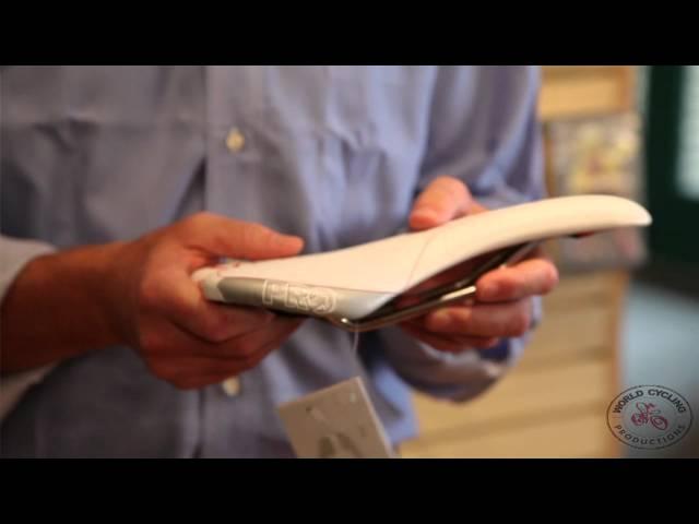 Видео Седло Pro Turnix Anatomic Fit 152mm черное