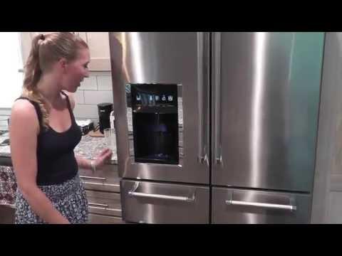Kitchen Aid Refrigerator review KRMF706ESS