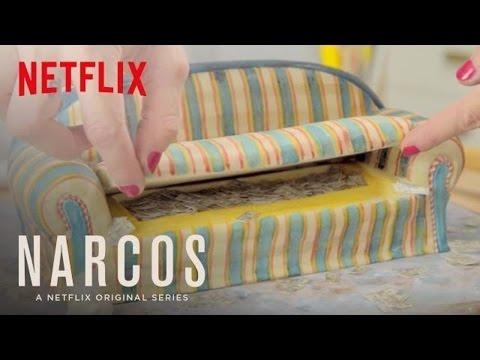 Cómo hacer un pastel de sofá de 'Narcos'