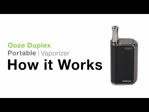 Ooze Duplex Dual Concentrate Vaporizer Tutorial – TVape