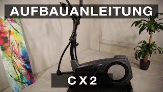 SPORTSTECH CX 2 Crosstrainer - Aufbauanleitung/construction/structure/estructura/struttura