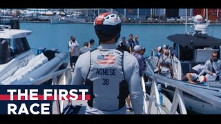The First Race - Mac Agnese, America's Cup Trimmer