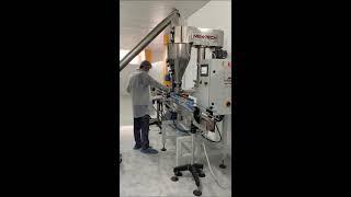Otomatik Vidalı Toz Dolum Makinesi