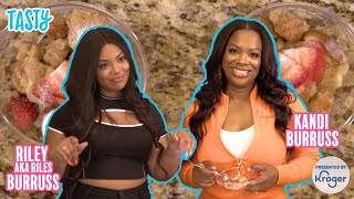 KROGER PRESENTS Back to School Cooking with Kandi & Riley Burruss