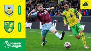 Burnley 0-0 Norwich City Pekan 7