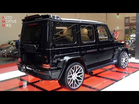 Mercedes-AMG Brabus G 900 Widestar One Of Ten
