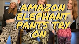 Elephant/Harem Pants From Amazon! | Try On And Styling