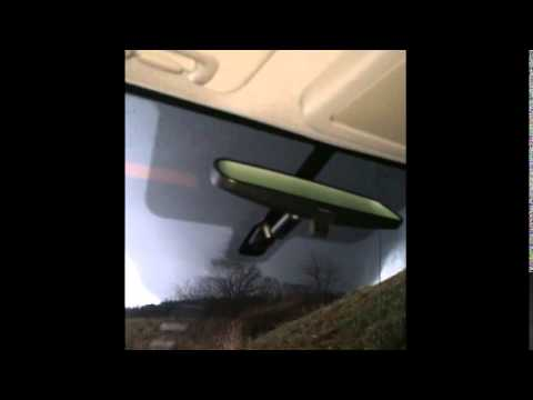 Tornado passes right in front of him.