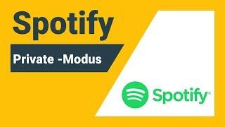 Spotify Private Session