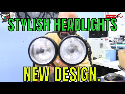 Latest Head Lights For All Motorcycles Part 01 | Bike Mate PK
