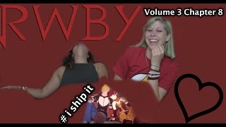RWBY Volume 3 Chapter 3 It's Brawl in the Family | REACTION